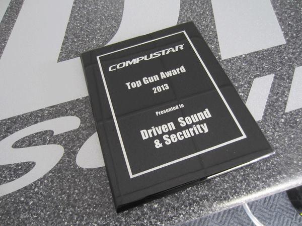 Compustar Top Gun Award