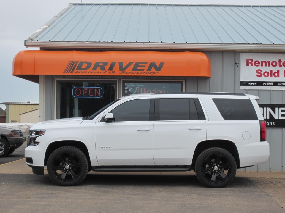 Chevrolet Tahoe Window Tint Client Stays Cool!