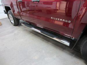 Silverado step tubes