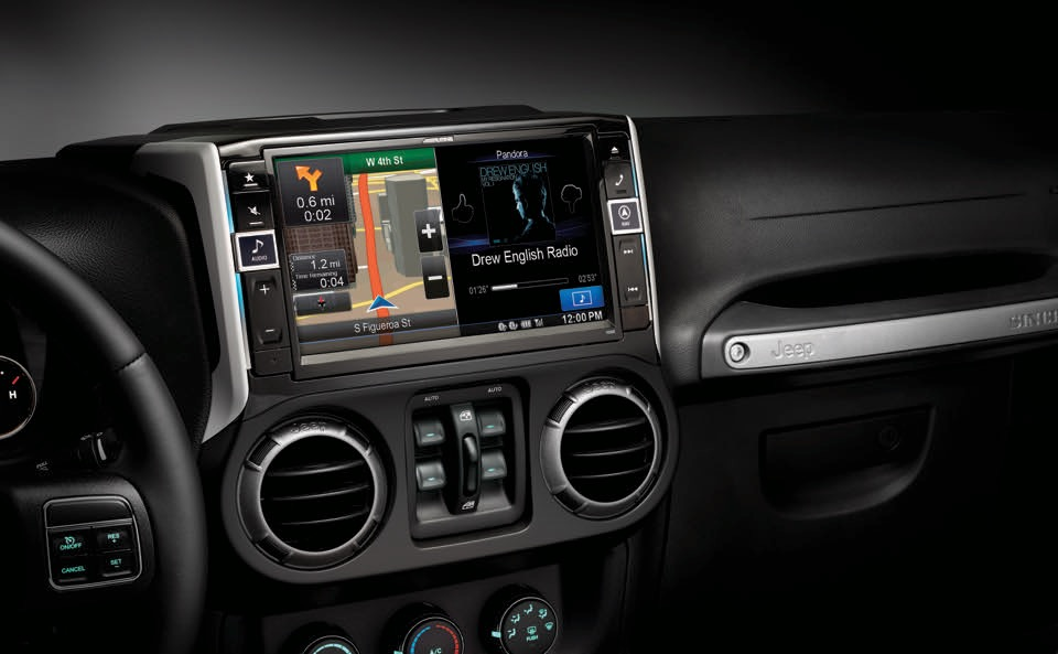 Alpine Jeep Navigation System Completes Your Wrangler