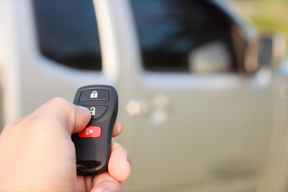 I want a remote starter, all you do is program a key fob