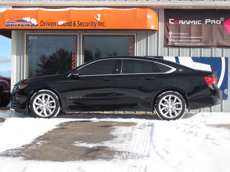 Auto Window Tinting >> Chevy Impala Window Tint and Remote Start for Marquette Client