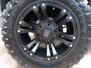 Chevy Silverado Wheel Coating