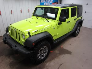 Jeep Wrangler Detail
