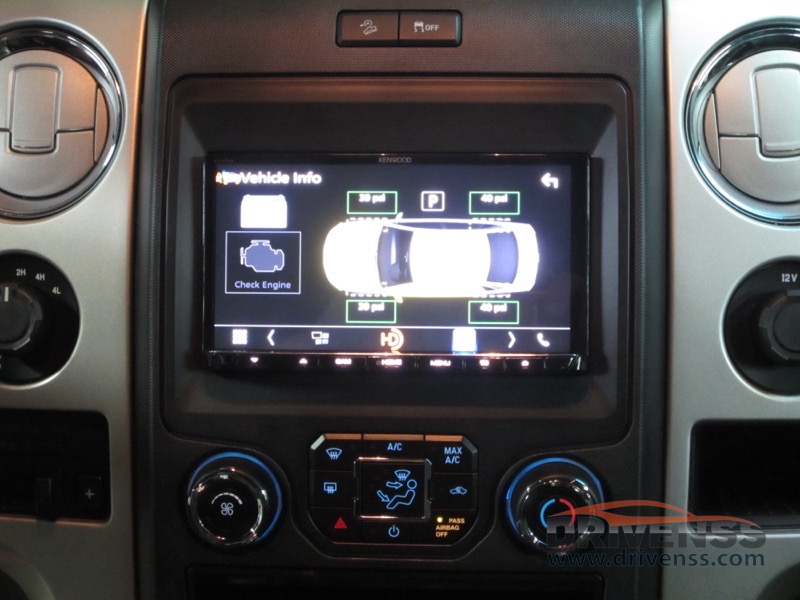 Marquette Client Gets Ford F150 Radio Integration