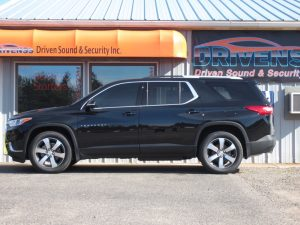 Negaunee SUV Owner Adds Chevy Traverse Window Tint
