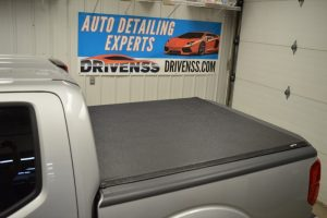 Marquette Client's Nissan Frontier Gets Truxedo Truck Bed Cover