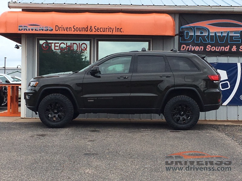 Jeep Grand Cherokee Lift Kit >> Jeep Grand Cherokee Lift Kit Installation For Marquette Client