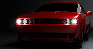 LED Headlights on Dodge Challenger
