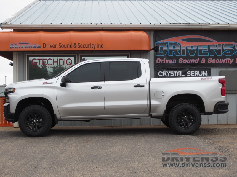 Marquette Client Enhances 2019 Chevrolet Silverado With 3m Tint